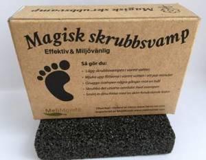 skrubbsvamp fotfil för fötterna