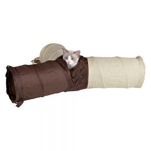 kattleksak tunnel katt