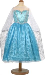 Frost maskeradkläder i form av Elsas klänning