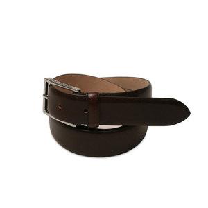 Italienskt brunt bälte i kastanj