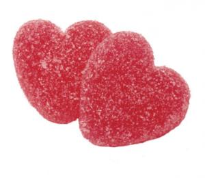 2.2 kg gelehjärtan