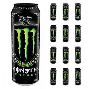 Importerad Monster energiläsk