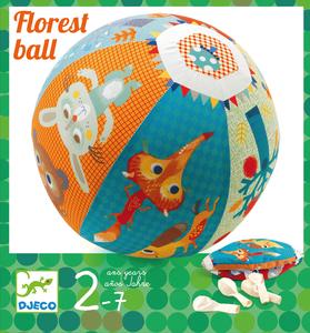 Fjäderlätt boll med ballong inuti