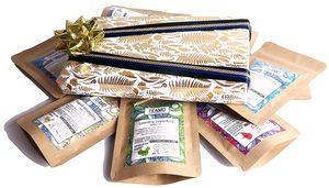 Presentbox med te