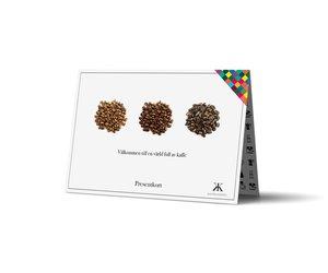 Lyxkaffe direkt i brevlådan