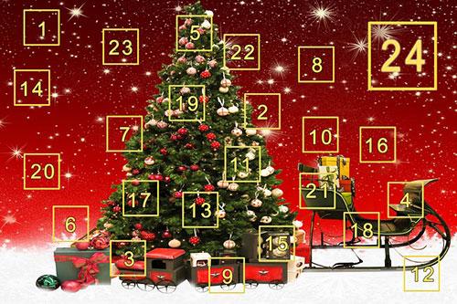 Köp julklappar med tips från butikernas julkalendrar