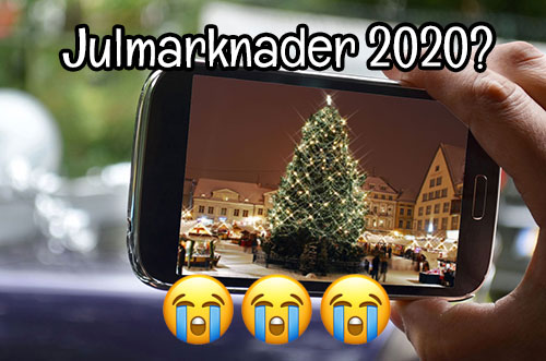Inga julmarknader 2020?
